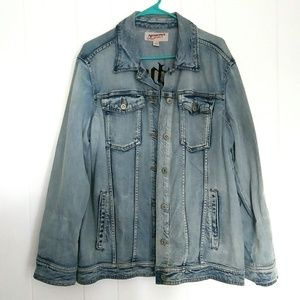 Authentic Light wash jean jacket